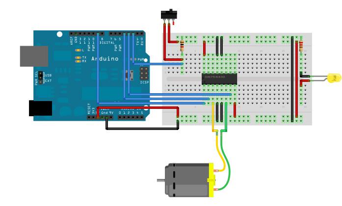 Arduino DC Motor Speed Control Potentiometer: 8 Steps